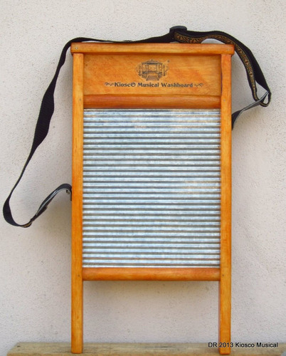 tallador musical kiosco musical washboard percusión c/ envio
