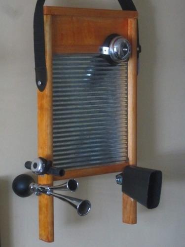 tallador washboard timbre corneta cencerro thali monterrey