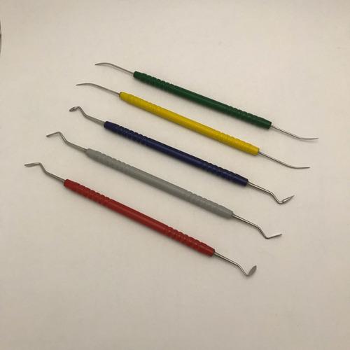 talladores de cera peter k thomas x 5 mango de pintado