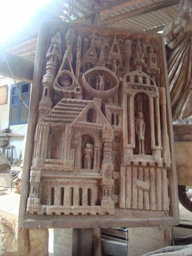 tallados y esculturas rusticas,maderas,imágenes religiosas