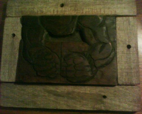 tallas en madera.