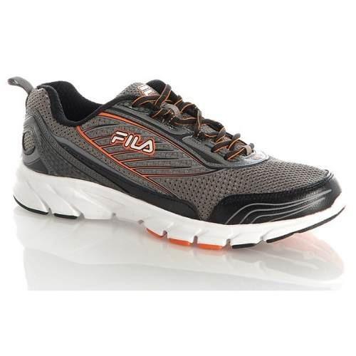 tallas grandes fila forward 2 zapatillas gris/naranjo us13