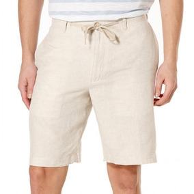 excepcional gama de estilos precio limitado sin impuesto de venta Tallas Grandes Perry Ellis Shorts Bermuda Lino 68 (w54)