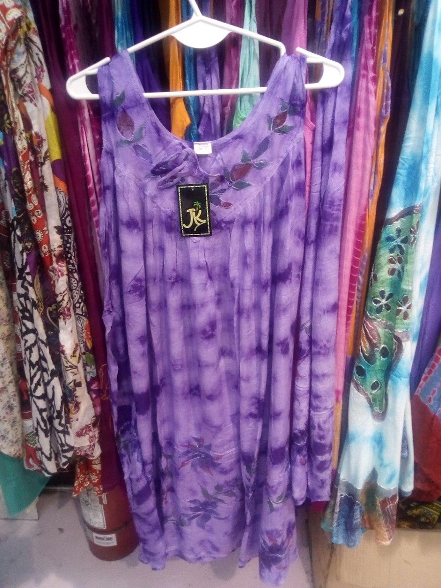 Talle Grande Vestido Solero Hindú Dama Largo Hippie Chic Xxl - $ 430 ...