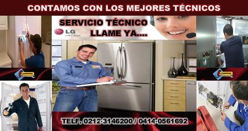 taller autorizado lg reparación de neveras y lavadoras