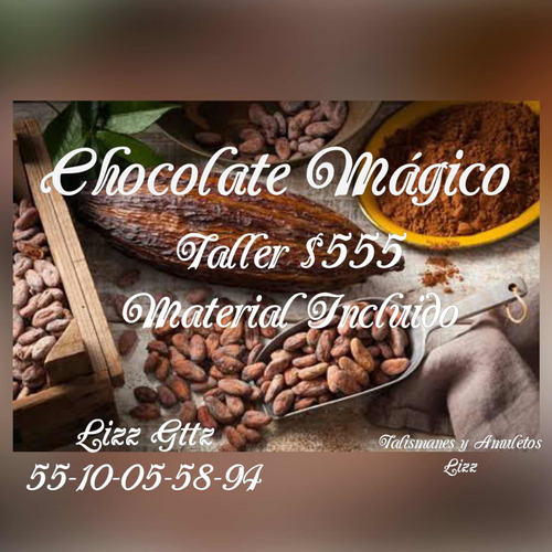 taller chocolate mágico