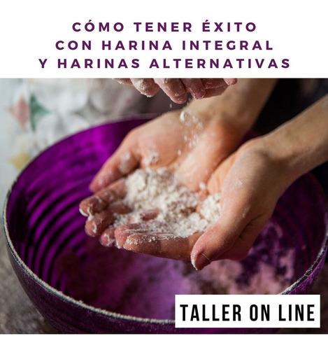 taller con nati kiako: cómo tener éxito con harina integral