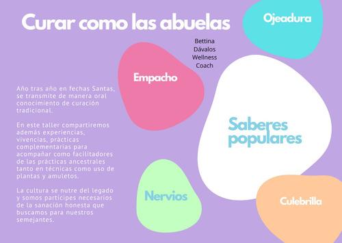 taller curar como las abuelas 23/6/20 saberes populares
