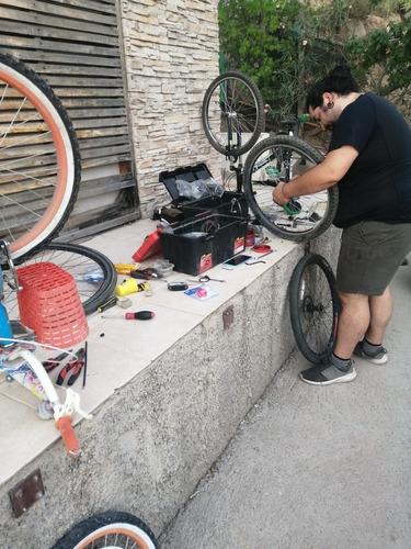 taller de bicicletas castillo a domicilio