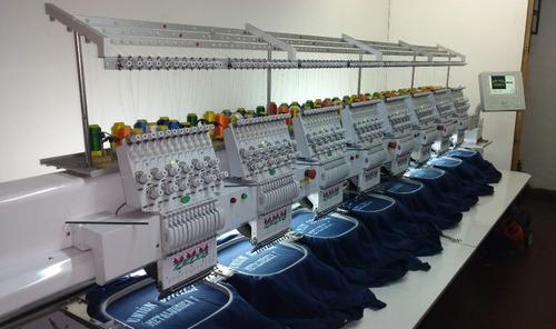 taller de bordados computarizados escudo gorra prenda armada