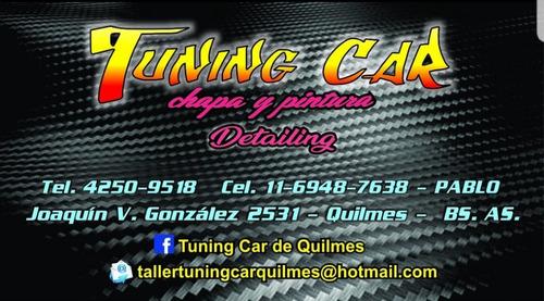 taller de chapa y pintura con sacabollos tuning car quilmes