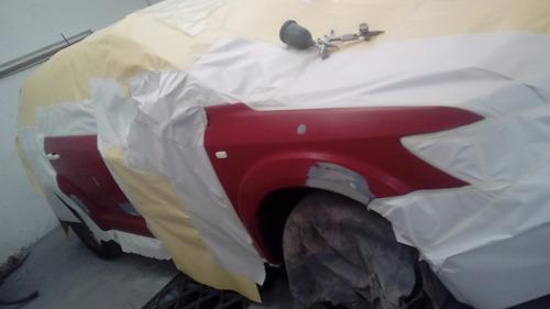 taller de chapa y pintura trabajos por seguros chocados