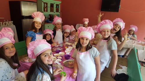 taller de cocineritas - cocineritas party- animación
