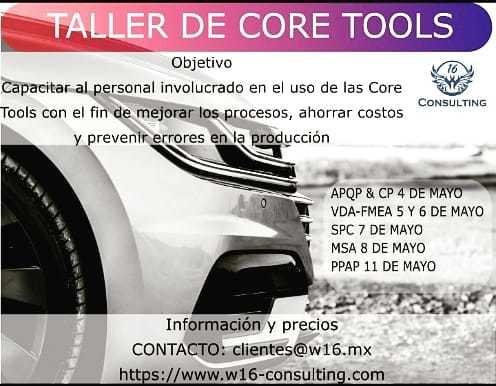 taller de core tools online