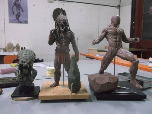 taller de escultura en plastilina