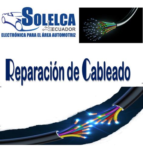 taller de especialidades electronicas y electricas. cableado