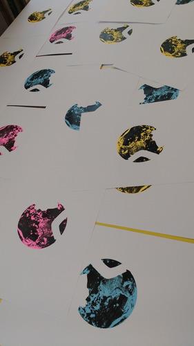 taller de estampado / serigrafía / sublimación.