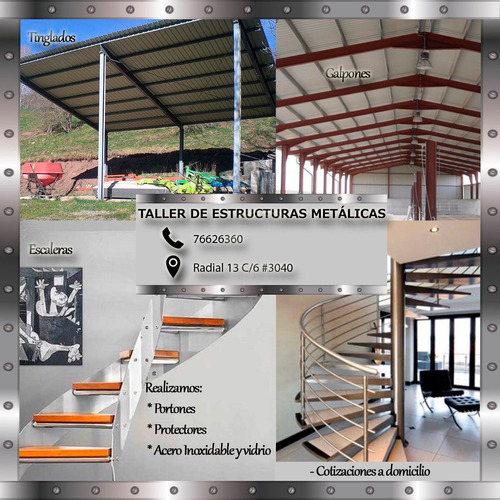 taller de estructuras metálicas
