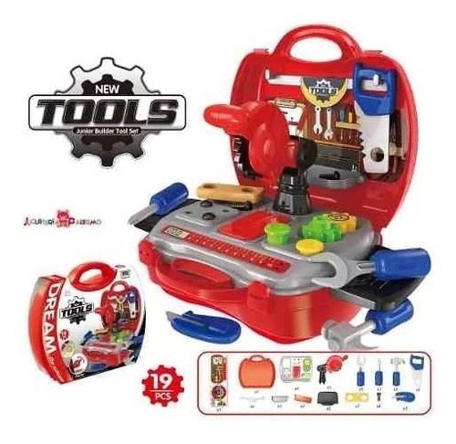 taller de herramientas portatil valija original