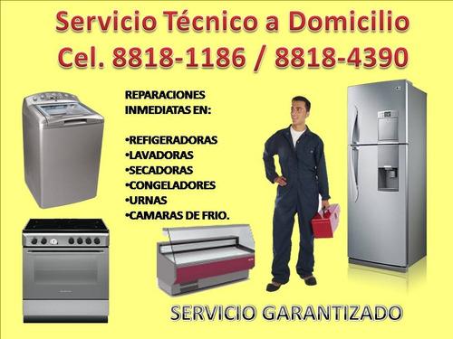 taller de lavadoras y refrigeradoras  a domicilio visito hoy