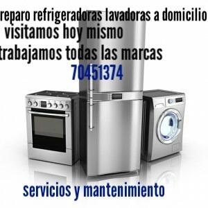 taller de lavadoras,refrigeradoras secadoras a domicilio