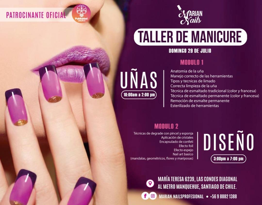 Taller De Manicure Y Diseños - $ 80.000 en Mercado Libre