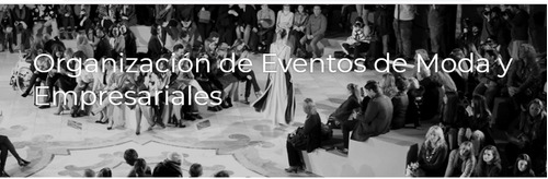 taller de organizacion de eventos de moda y empres  (online)