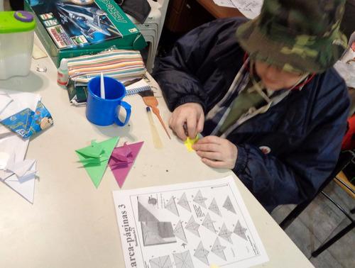 taller de origami - todas las edades