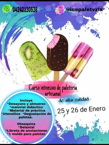 taller de paletas heladas gourmet de alta calidad