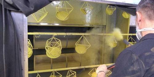 taller de pintura al horno