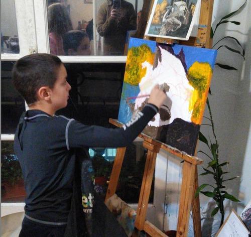 taller de pintura y dibujo para niños y adolescentes