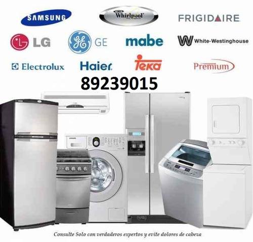 taller de refrigeradoras y lavadoras a domicilio