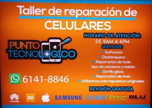taller de reparación de celulares y tablet.