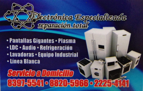 taller de reparación de lavadoras a domicilio 22854141