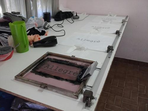 taller de serigrafia..!!!