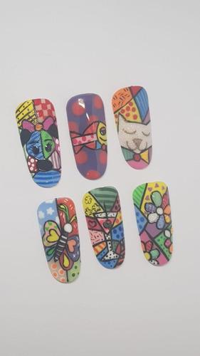 taller de técnica britto para pintar uñas