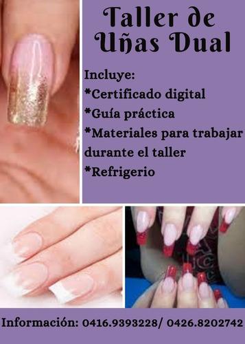 taller de uñas dual