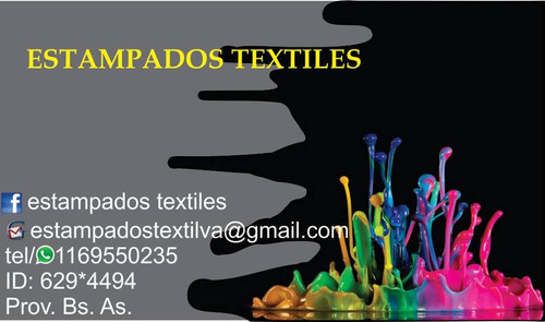 taller estampado textil
