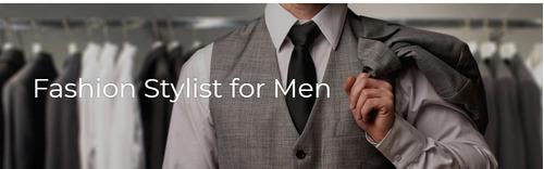 taller fashion stylist for men (online)