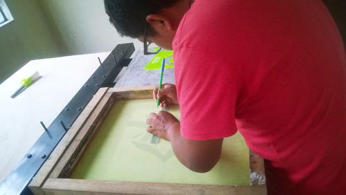 taller intensivo de estampado textil