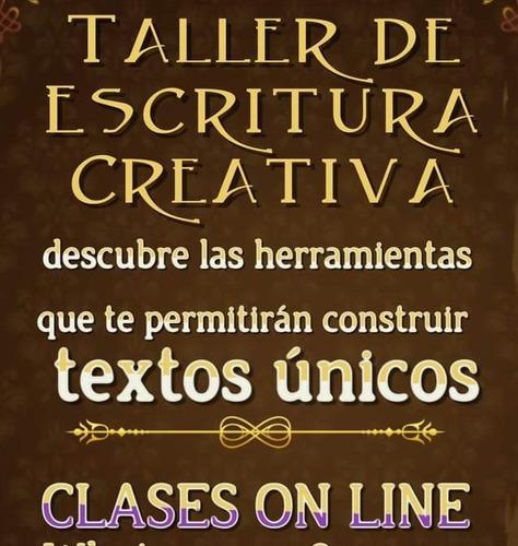 taller literario:  escritura creativa