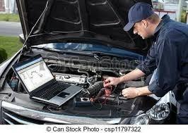 taller mecánico escaner diagnostico reparación mantenimiento