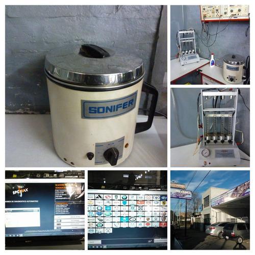 taller mecanico-inyeccion- escaner-alineacion balanceo