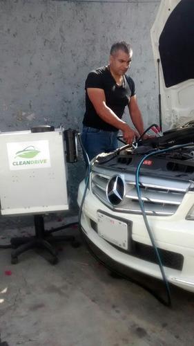 taller mecánico, llevamos a  verificar, descarbonizacion