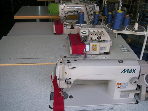 taller nuevo de maquinas de coser recta overlock collarete