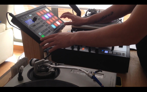 taller on line de producción dj con maschine mikro mk2