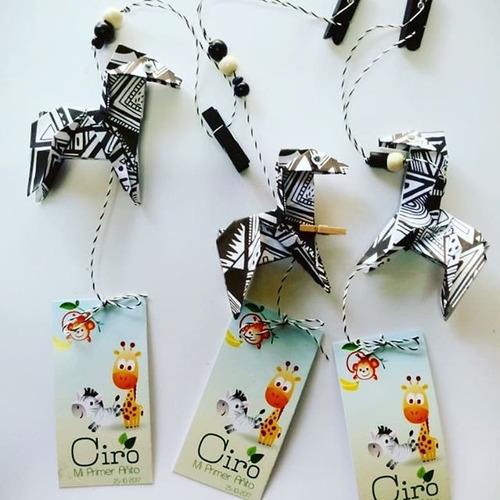 taller online animales d la selva en papel souvenirs origami