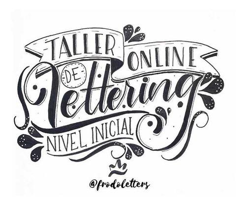 taller online de lettering nivel inicial