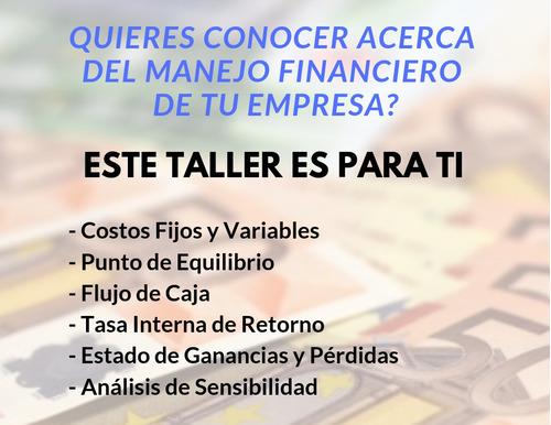 taller particular sobre herramientas financieras
