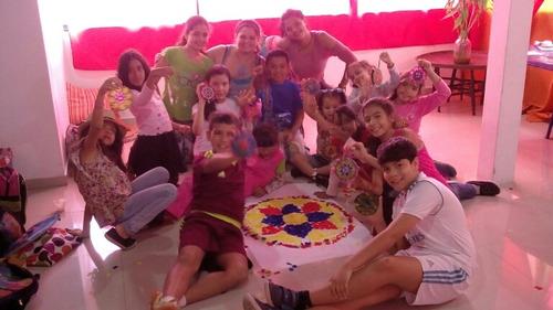 taller plan vacacional con mandalas para niños